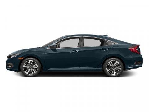 2016 Honda Civic Sedan EX-L with Navigation Cosmic Blue MetallicGray V4 15 L Variable 0 miles