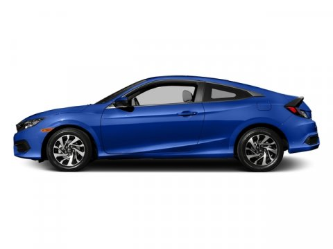 2016 Honda Civic Coupe LX-P Aegean Blue MetallicBlackGray V4 20 L Variable 0 miles  Front Wh