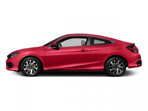 2016 Honda Civic Coupe LX-P Rallye RedBlackIvory V4 20 L Variable 0 miles  Front Wheel Drive