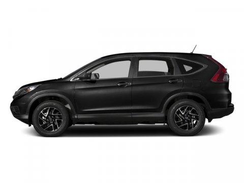 2016 Honda CR-V SE Crystal Black PearlBlack V4 24 L Variable 0 miles  All Wheel Drive  Power