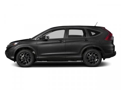 2016 Honda CR-V SE Modern Steel MetallicGray V4 24 L Variable 0 miles  All Wheel Drive  Powe