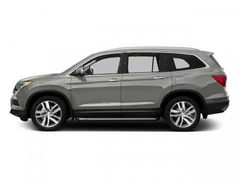 2016 Honda Pilot Touring with Navigation and Rear Lunar Silver MetallicGray V6 35 L Automatic