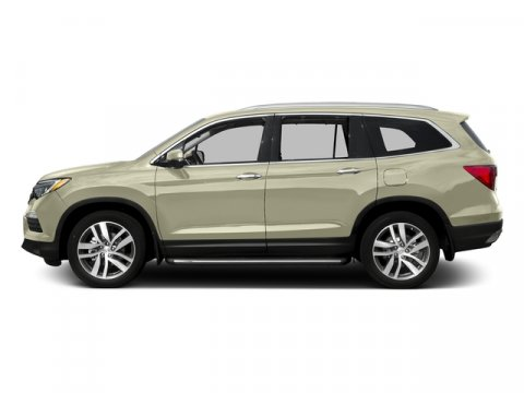 2016 Honda Pilot Touring with Navigation and Rear White Diamond PearlBeige V6 35 L Automatic 0