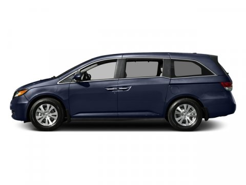 2016 Honda Odyssey SE Obsidian Blue PearlGray Cloth V6 35 L Automatic 11 miles  Front Wheel D