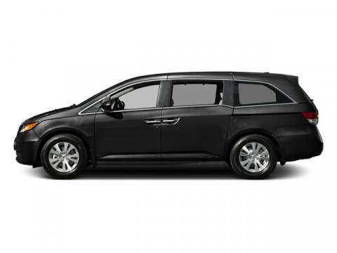 2016 Honda Odyssey SE Crystal Black PearlGray V6 35 L Automatic 135 miles  Front Wheel Drive