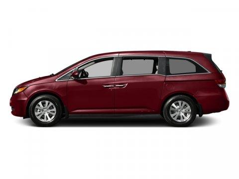 2016 Honda Odyssey SE Deep Scarlet PearlBeige V6 35 L Automatic 0 miles  Front Wheel Drive