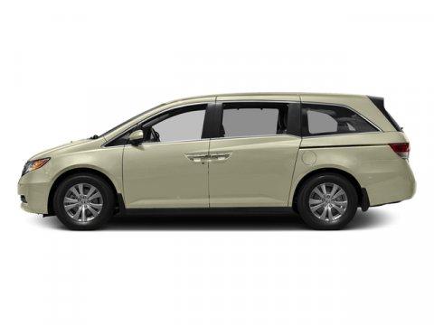 2016 Honda Odyssey EX White Diamond PearlBeige V6 35 L Automatic 0 miles  Front Wheel Drive
