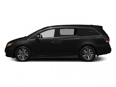 2016 Honda Odyssey Touring Crystal Black PearlGray V6 35 L Automatic 10 miles  Front Wheel Dr