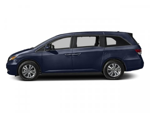 2016 Honda Odyssey EX-L Obsidian Blue PearlGray V6 35 L Automatic 0 miles  Front Wheel Drive