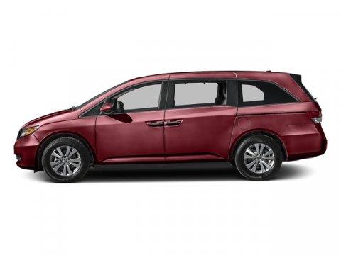2016 Honda Odyssey EX-L Deep Scarlet PearlBeige V6 35 L Automatic 0 miles  Front Wheel Drive