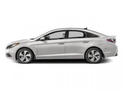 2016 Hyundai Sonata Plug-In Hybrid Limited Diamond White PearlGray V4 20 L Automatic 0 miles
