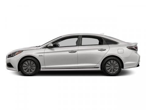 2016 Hyundai Sonata Hybrid SE Diamond White PearlGray V4 20 L Automatic 10 miles  Front Wheel