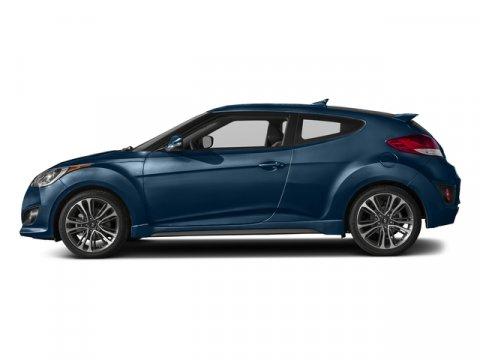 2016 Hyundai Veloster Turbo Pacific BlueBlack V4 16 L Automatic 0 miles  BLACK LEATHER SEATIN