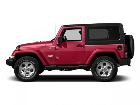 2016 Jeep Wrangler Firecracker Red Clearcoat V6 36 L  0 miles 4X4 MP3 Player KEYLESS ENTRY