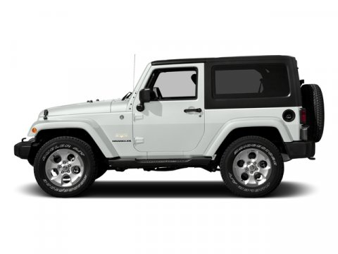 2016 Jeep Wrangler Bright White Clearcoat V6 36 L  0 miles 4X4 MP3 Player The Jeep Wrangler