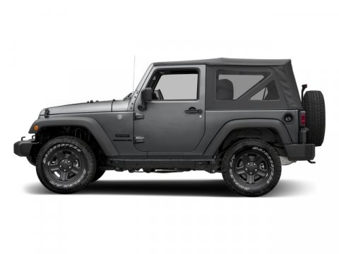 2016 Jeep Wrangler Granite Crystal Metallic Clearcoat V6 36 L  0 miles 4X4 MP3 Player  The
