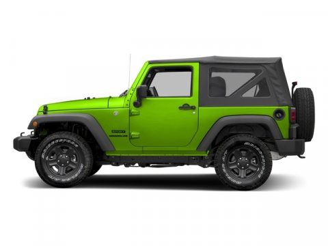 2016 Jeep Wrangler HYPERGREEN CLEAR COAT V6 36 L Automatic 0 miles 4X4 MP3 Player  The Jee