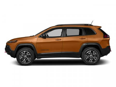 2016 Jeep Cherokee Trailhawk Mango Tango PearlcoatLEATHER TRIMMED V6 32 L Automatic 10 miles