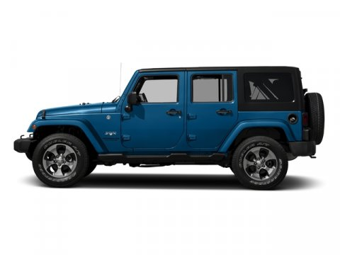 2016 Jeep Wrangler Unlimited Sahara Hydro Blue PearlcoatBlack V6 36 L Automatic 1210 miles On