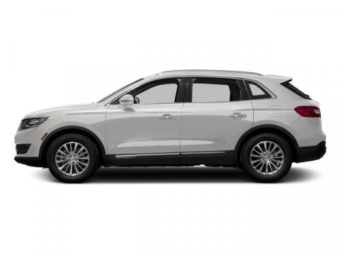 2016 Lincoln MKX Select White Platinum Metallic Tri-CoatCappuccino V6 37 L Automatic 11 miles