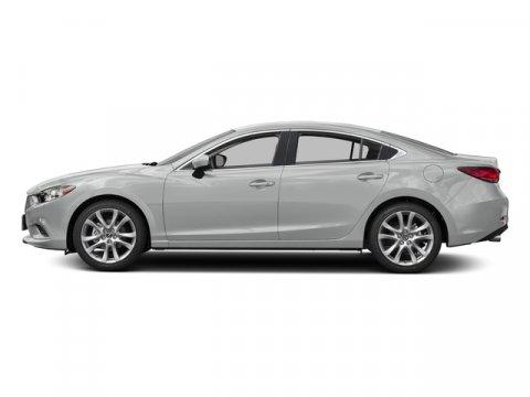 2016 Mazda Mazda6 i Sport Snowflake White Pearl MicaBlack V4 25 L Automatic 12 miles  SNOWFLA