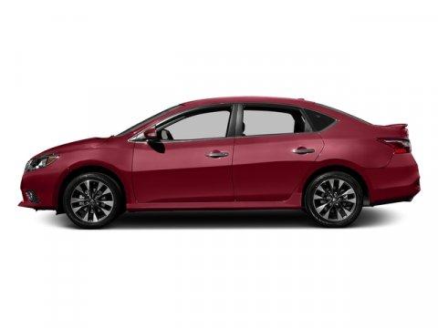 2016 Nissan Sentra SR Red AlertCharcoal V4 18 L Variable 0 miles  Front Wheel Drive  Power S
