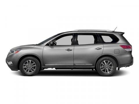 2016 Nissan Pathfinder SL Brilliant Silver MetallicCharcoal V6 35 L Variable 0 miles  Front W