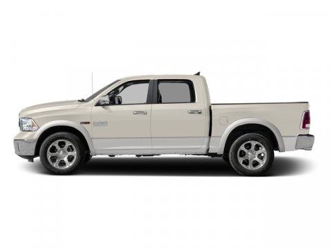 2016 Ram 1500 Laramie Pearl WhiteBlack V8 57 L Automatic 6185 miles  Rear Wheel Drive  Tow H
