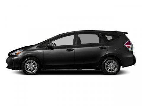 2016 Toyota Prius v Two Midnight Black MetallicAsh V4 18 L Variable 0 miles  Front Wheel Driv