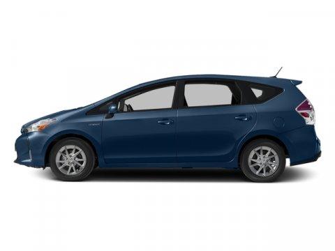 2016 Toyota Prius v Four Blue Ribbon MetallicLa22Black V4 18 L Variable 8 miles  ALL WEATHER