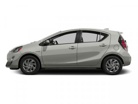 2016 Toyota Prius c One Classic Silver MetallicDark Blue V4 15 L Variable 8 miles  REAR BUMPE