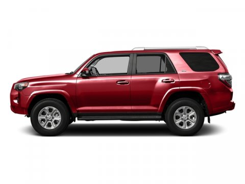 2016 Toyota 4Runner SR5 Barcelona Red MetallicSand Beige V6 40 L Automatic 8 miles  ALL WEATH