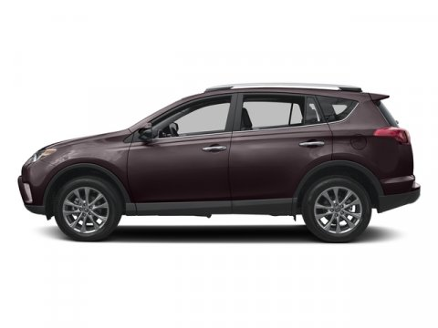 2016 Toyota RAV4 Limited Black Currant MetallicEa20Black V4 25 L Automatic 8 miles  RADIO P