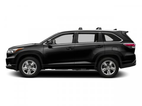 2016 Toyota Highlander Limited Midnight Black MetallicAsh V6 35 L Automatic 8 miles  ALL WEAT