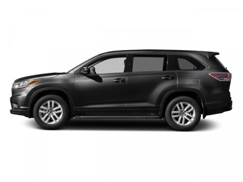 2016 Toyota Highlander LE Plus Midnight Black MetallicAlmond V6 35 L Automatic 8 miles  LE PL