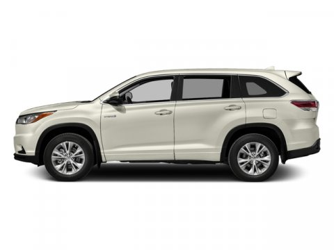 2016 Toyota Highlander Hybrid Limited Platinum Blizzard PearlAsh V6 35 L Variable 8 miles  BO