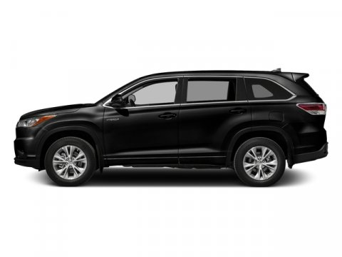 2016 Toyota Highlander Hybrid Limited Platinum Midnight Black MetallicTAN LEATHER V6 35 L Varia