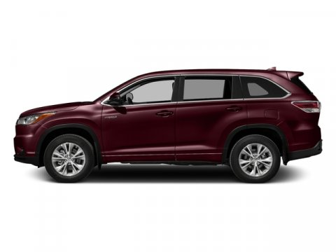 2016 Toyota Highlander Hybrid Limited Platinum Ooh La La Rouge MicaLa20Black V6 35 L Variable
