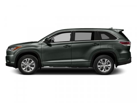2016 Toyota Highlander Hybrid Limited Platinum Alumina Jade MetallicTAN LEATHER V6 35 L Variabl