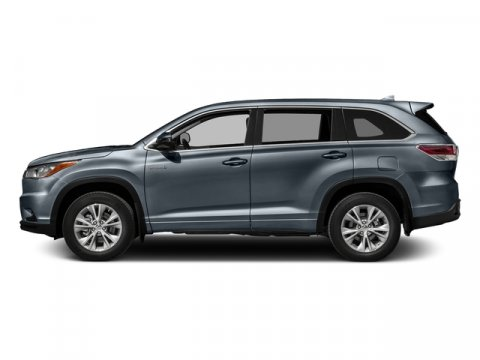 2016 Toyota Highlander Hybrid Limited Shoreline Blue PearlGray V6 35 L Variable 5 miles FREE
