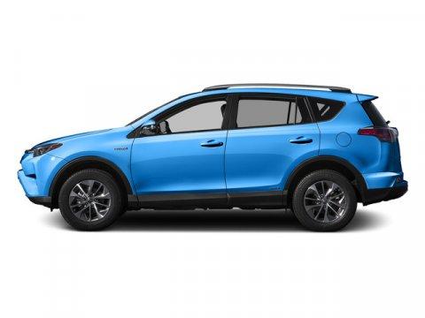 2016 Toyota RAV4 Hybrid XLE Electric Storm BlueBlack V4 25 L Variable 8 miles  FOUR SEASON FL