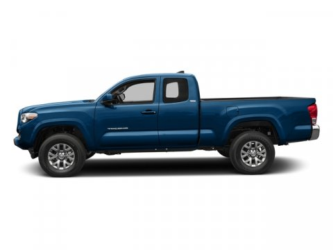 2016 Toyota Tacoma SR5 Blazing Blue PearlCement Gray V4 27 L Automatic 8 miles  ALL WEATHER F