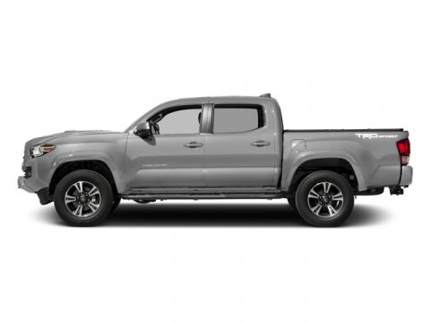 2016 Toyota Tacoma TRD Sport Silver Sky MetallicBlack V6 35 L Automatic 8 miles  BED STEP  E