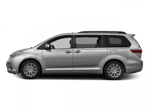 2016 Toyota Sienna XLE Premium Silver Sky MetallicAsh V6 35 L Automatic 8 miles  ALL-WEATHER