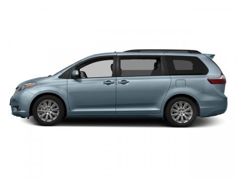 2016 Toyota Sienna XLE Sky Blue PearlBisque V6 35 L Automatic 15 miles  Front Wheel Drive  P