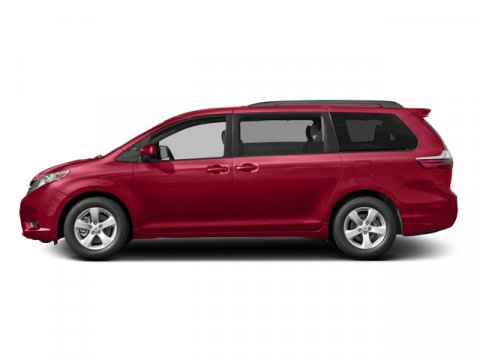 2016 Toyota Sienna LE Salsa Red PearlBisque V6 35 L Automatic 5 miles FREE Annual inspection