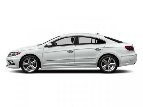 2016 Volkswagen CC R-Line Pure WhiteBlack V4 20 L Automatic 610 miles  CHROME EXHAUST TIPS
