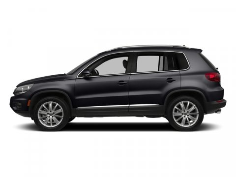 2016 Volkswagen Tiguan S Deep Black PearlBeige V4 20 L Automatic 10 miles The Tiguan is every