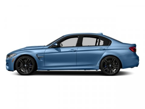 2017 BMW M3 Yas Marina Blue MetallicBlack V6 30 L Automatic 10 miles  EXECUTIVE PACKAGE -inc