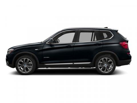 2017 BMW X3 xDrive28i Carbon Black MetallicMocha V4 20 L Automatic 7 miles  CARBON BLACK META